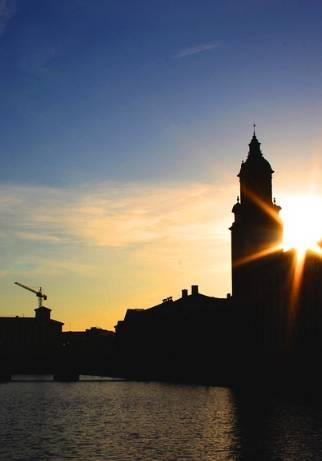 Göteborg zachód słońca